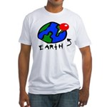 Where On Earth? Fitted T-Shirt