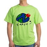 Where On Earth? Green T-Shirt