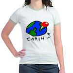 Where On Earth? Jr. Ringer T-Shirt