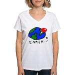 Where On Earth? Women's V-Neck T-Shirt