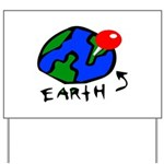 Where On Earth? Yard Sign