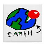 Where On Earth? Tile Coaster