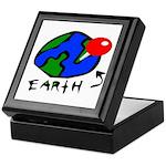 Where On Earth? Keepsake Box