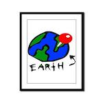 Where On Earth? Framed Panel Print