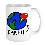 Where On Earth? Large Mug