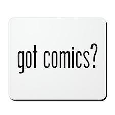 Got Comics? Mousepad