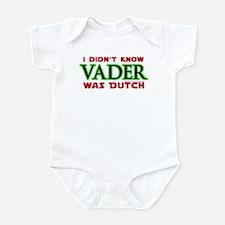 Vader was Dutch- Saber Green Infant Bodysuit
