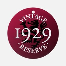 Vintage Reserve 1929 Ornament (Round)