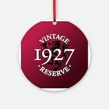Vintage Reserve 1927 Ornament (Round)