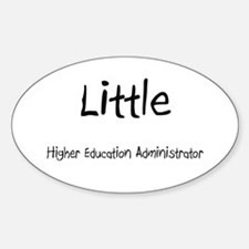 Little Higher Education Administrator Decal