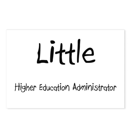 Little Higher Education Administrator Postcards (P