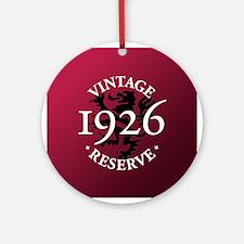 Vintage Reserve 1926 Ornament (Round)