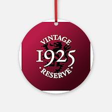 Vintage Reserve 1925 Ornament (Round)