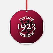 Vintage Reserve 1923 Ornament (Round)