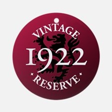 Vintage Reserve 1922 Ornament (Round)