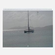 Cute Virgin islands Wall Calendar