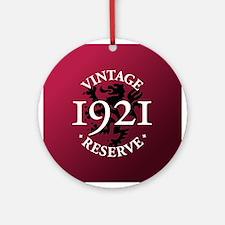Vintage Reserve 1921 Ornament (Round)