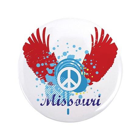 "Missouri Peace 3.5"" Button (100 pack)"