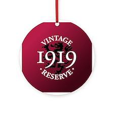 Vintage Reserve 1919 Ornament (Round)