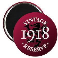 """Vintage Reserve 1918 2.25"""" Magnet (10 pack)"""