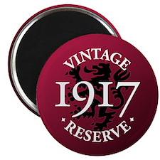 """Vintage Reserve 1917 2.25"""" Magnet (10 pack)"""