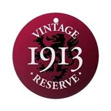Vintage Reserve 1913 Ornament (Round)