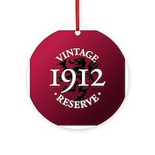 Vintage Reserve 1912 Ornament (Round)
