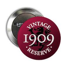 "Vintage Reserve 1909 2.25"" Button (10 pack)"