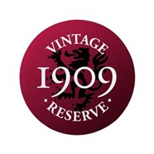 "Vintage Reserve 1909 3.5"" Button (100 pack)"