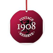 Vintage Reserve 1908 Ornament (Round)