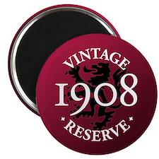 """Vintage Reserve 1908 2.25"""" Magnet (100 pack)"""