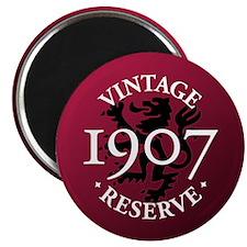 Vintage Reserve 1907 Magnet