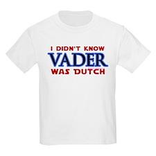 Vader was Dutch - Saber Blue T-Shirt