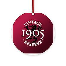 Vintage Reserve 1905 Ornament (Round)