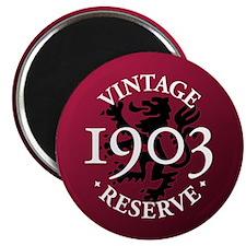 Vintage Reserve 1903 Magnet