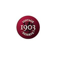 Vintage Reserve 1903 Mini Button