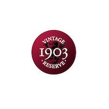 Vintage Reserve 1903 Mini Button (100 pack)