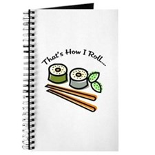 That's How I Roll Sushi Journal
