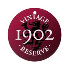 Vintage Reserve 1902 Ornament (Round)