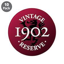 "Vintage Reserve 1902 3.5"" Button (10 pack)"