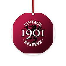 Vintage Reserve 1901 Ornament (Round)