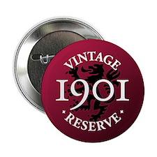"""Vintage Reserve 1901 2.25"""" Button"""