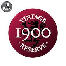 "Vintage Reserve 1900 3.5"" Button (10 pack)"