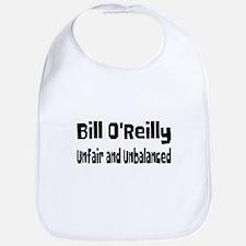 Bill O'Reilly Unfair & Unbalanced Bib