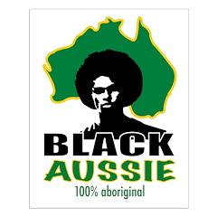 Black Aussie Posters