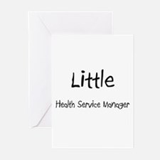 Little Health Service Manager Greeting Cards (Pk o