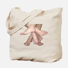 Family of Feet Tote Bag