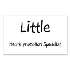 Little Health Promotion Specialist Decal