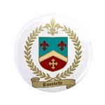 "ROUSSELLE Family Crest 3.5"" Button (100 pack)"