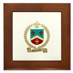 ROUSSELLE Family Crest Framed Tile